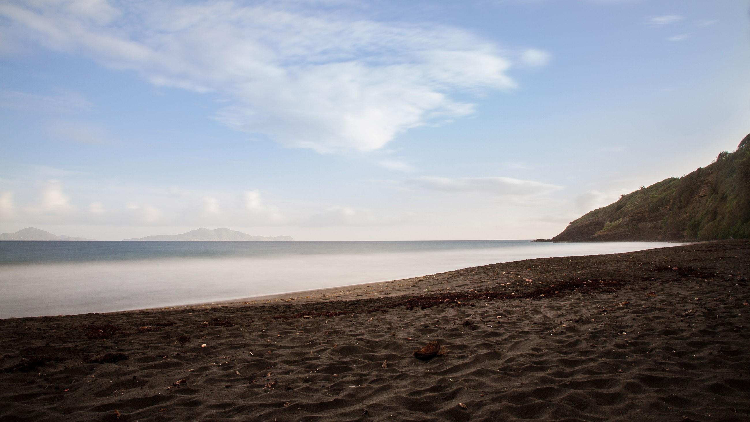 beach-sunset-troisrivieres-guadeloupe-france-paradise-island-caribbean-nobody